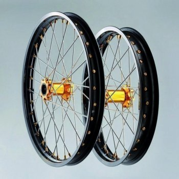 "G2 ProSeries Black Wheelset ENDURO/MX 21""+18""/19"""